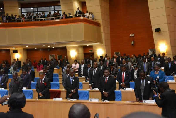 Members of parliament in the house