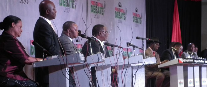 The First Ever Presidential Debates in Malawi