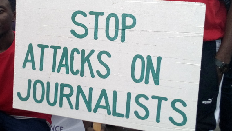 Stop attacks on journalists