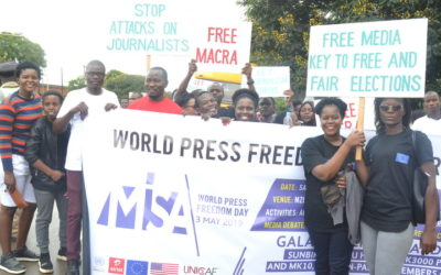 2020 World Press Freedom Day Celebrations: 'Journalism without fear or favour'