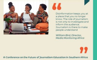Journalists challenged on disinformation